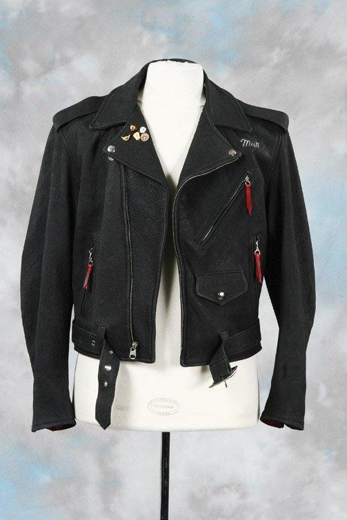 1043: Shia LaBeouf leather biker jacket - Indiana Jones