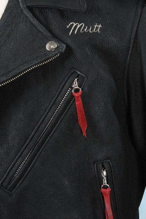 1043: Shia LaBeouf leather biker jacket - Indiana Jones - 2