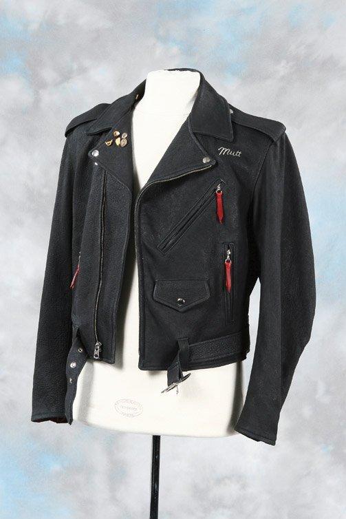 1043: Shia LaBeouf leather biker jacket - Indiana Jones - 4