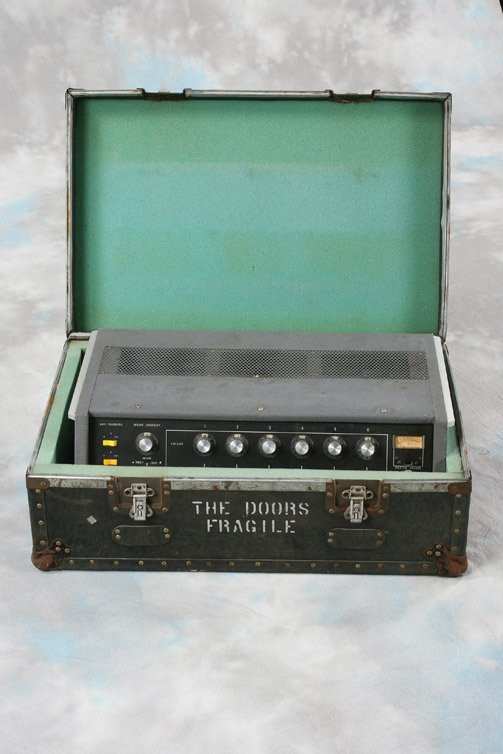 1072: Orig. Jim Morrison Electro-Voice 676 microphone - 4