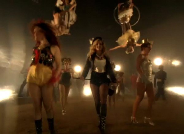 1074: Britney Spears Circus video dance costume - 10
