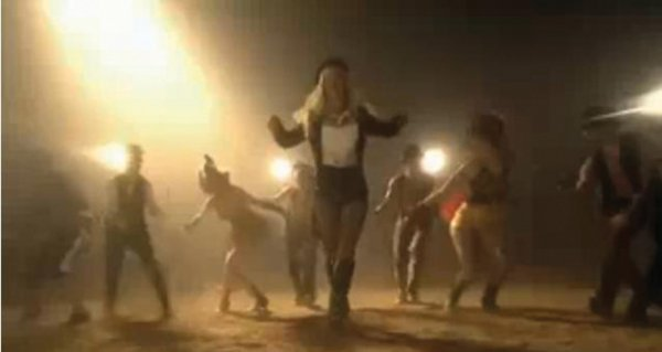 1074: Britney Spears Circus video dance costume - 6