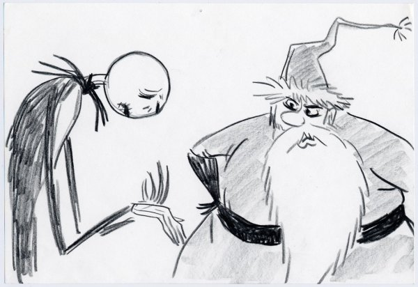 1085: Production artwork The Nightmare Before Christmas