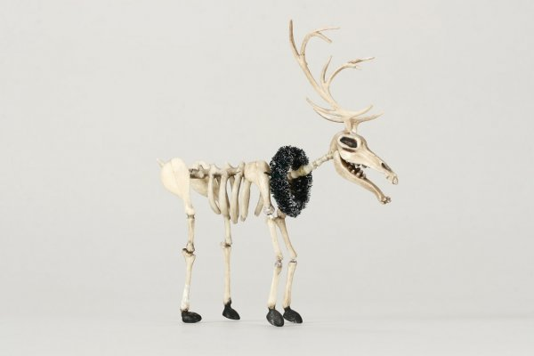 1100: Reindeer puppet from Nightmare Before Christmas - 3