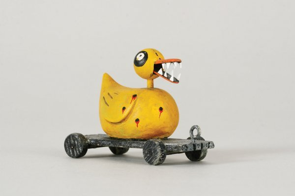 1101: Duck toy w/ teeth from Nightmare Before Christmas - 2