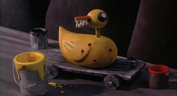 1101: Duck toy w/ teeth from Nightmare Before Christmas - 3