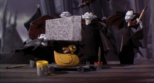 1101: Duck toy w/ teeth from Nightmare Before Christmas - 4