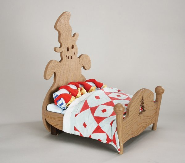 1102: Elven bed w/five Elves Nightmare Before Christmas - 7