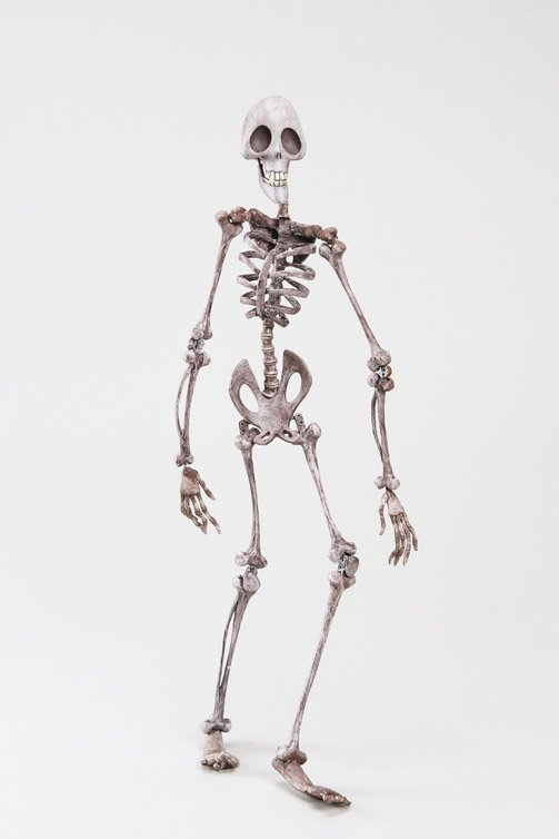 1120: Skeleton animation puppet from Corpse Bride