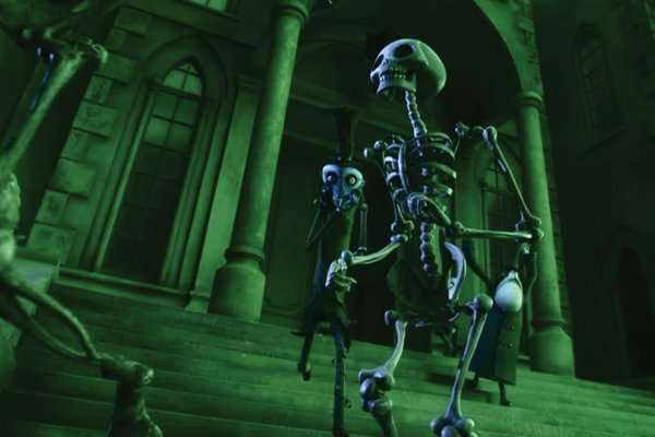1120: Skeleton animation puppet from Corpse Bride - 9