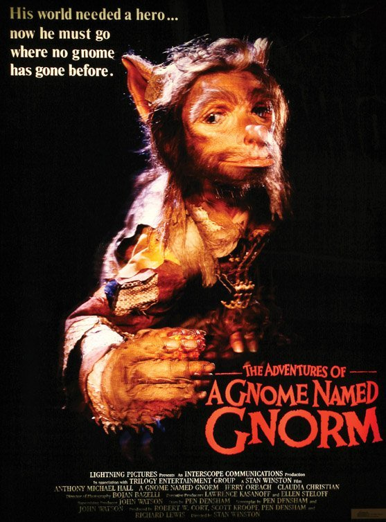 1133: Cable-controlled gnome puppet A Gnome Named Gnorm - 5