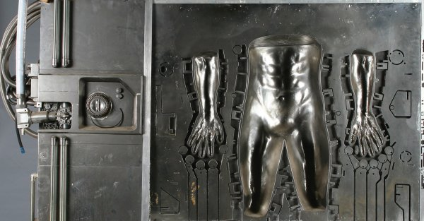 1135: Teaser trailer body molds from Terminator 2