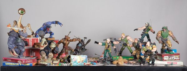 1141: Original battle display from Small Soldiers