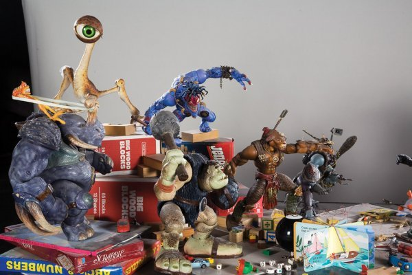 1141: Original battle display from Small Soldiers - 2