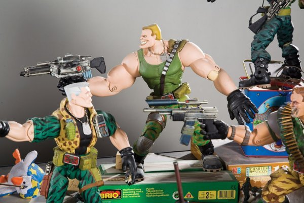 1141: Original battle display from Small Soldiers - 3