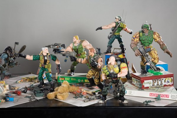 1141: Original battle display from Small Soldiers - 8