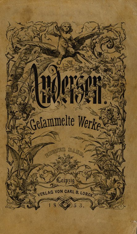 1: Unpub. handwritten poem - Hans Christian Andersen - 2