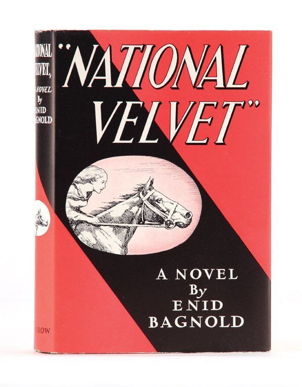 2: National Velvet, First Edition with signed letter