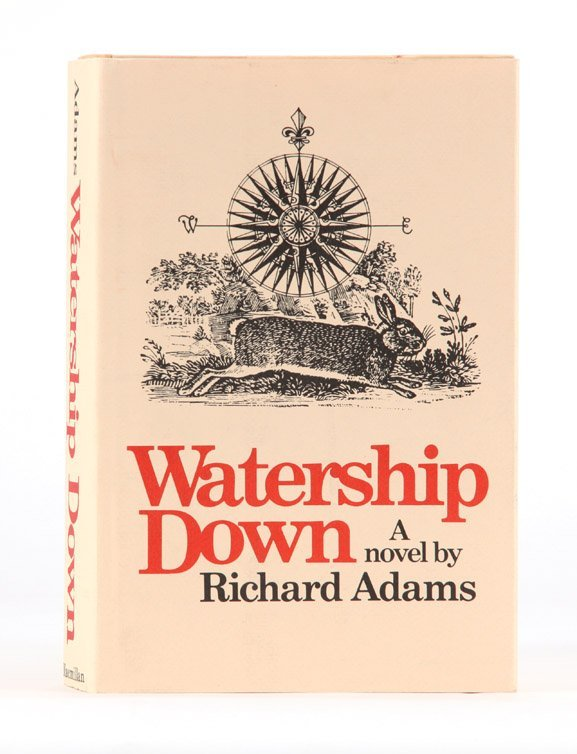 5: Watership Down, First Edition inscribed by author