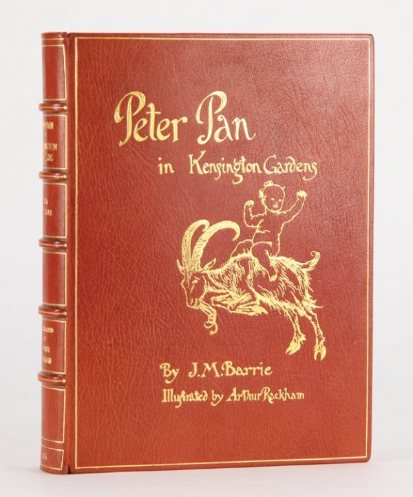 7: Peter Pan in Kensington Gardens, inscribed