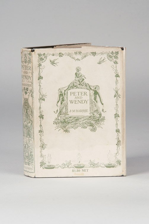 9: Peter and Wendy, 1st Am Ed. Inscribed by Barrie