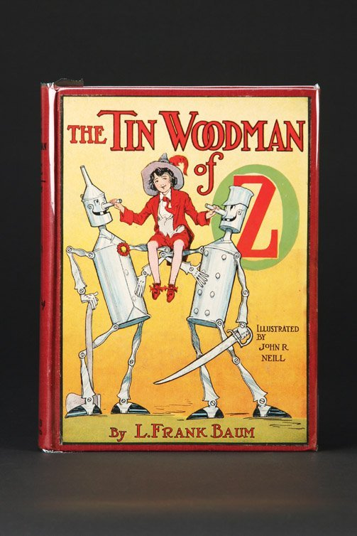 12: The Tin Woodman of Oz, First Edition