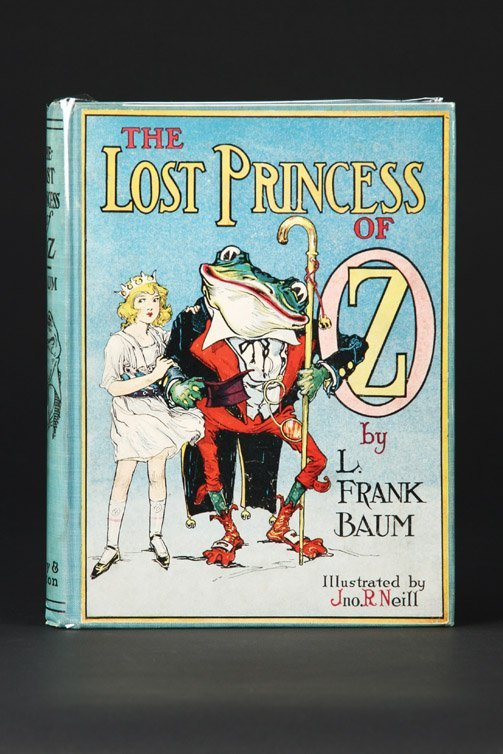 15: The Lost Princess of Oz, First Edition, 1st state