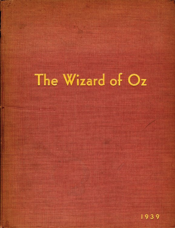 19: The Wizard of Oz, presentation copy sheet music