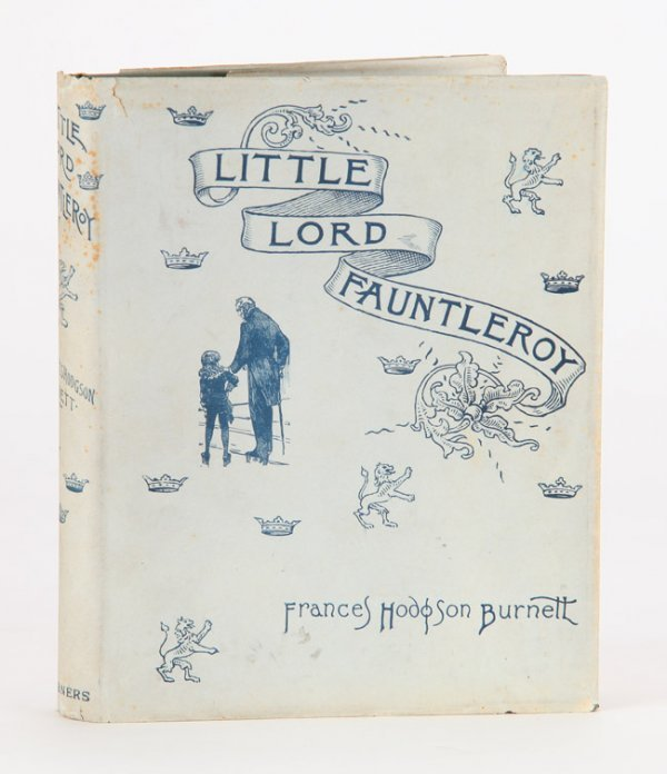 21: Little Lord Fauntleroy, in the rare dust jacket