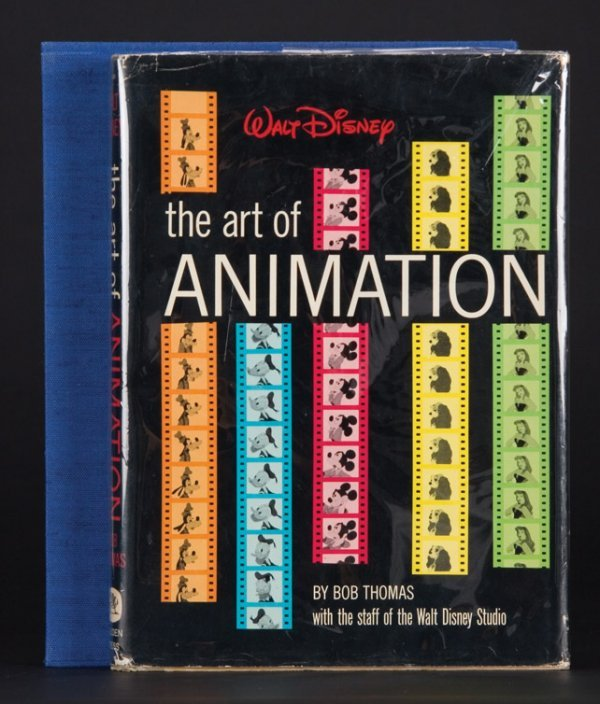 22: The Art of Animation, signed by Walt Disney