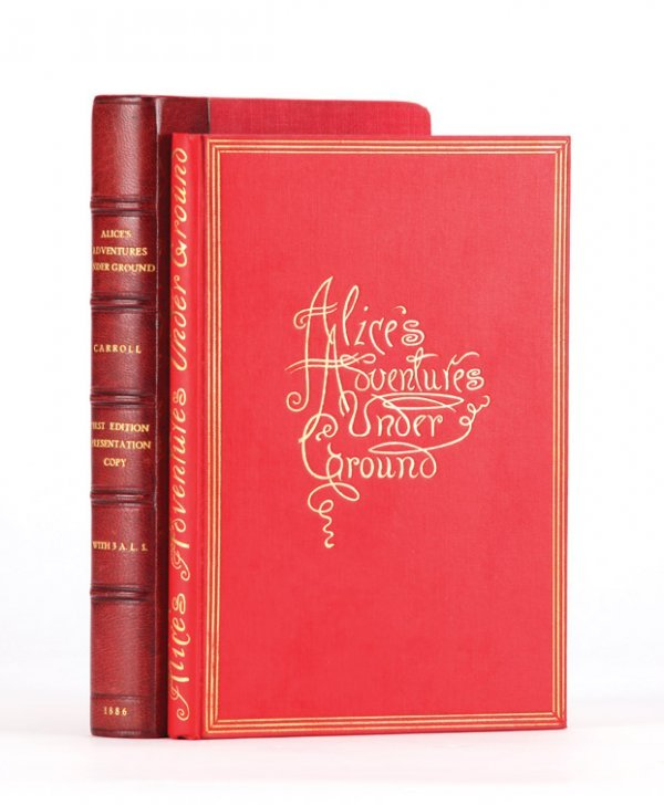 24: Alice's Adventures Under Ground, First Edition