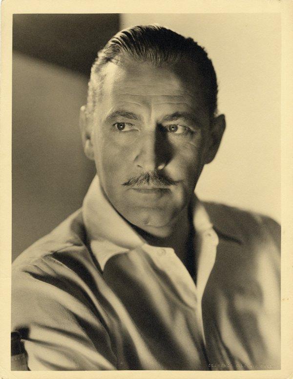 2: John Barrymore gallery portrait by Sinclair Bull