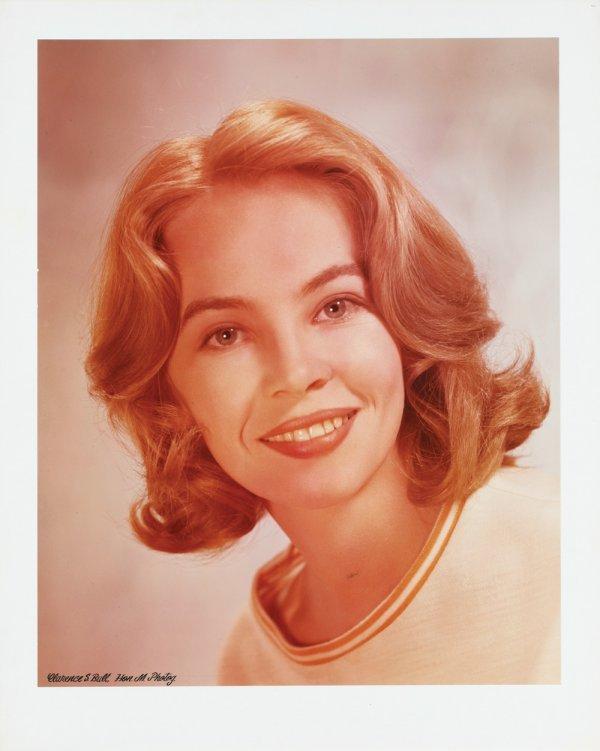 3: Leslie Caron color carbon bromide portraits