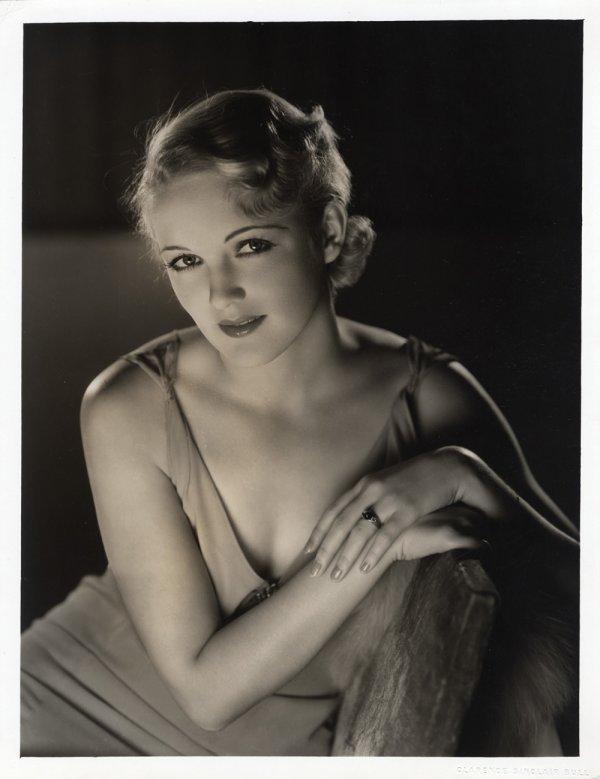 4: Virginia Cherrill oversize photo by Sinclair Bull