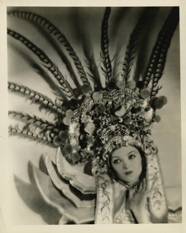 488: Myrna Loy gallery portraits by Fred R. Archer