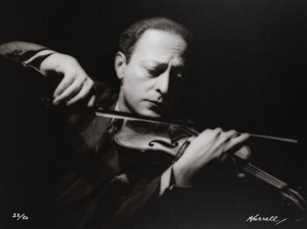 595: Jascha Heifetz portfolio portrait  George Hurrell