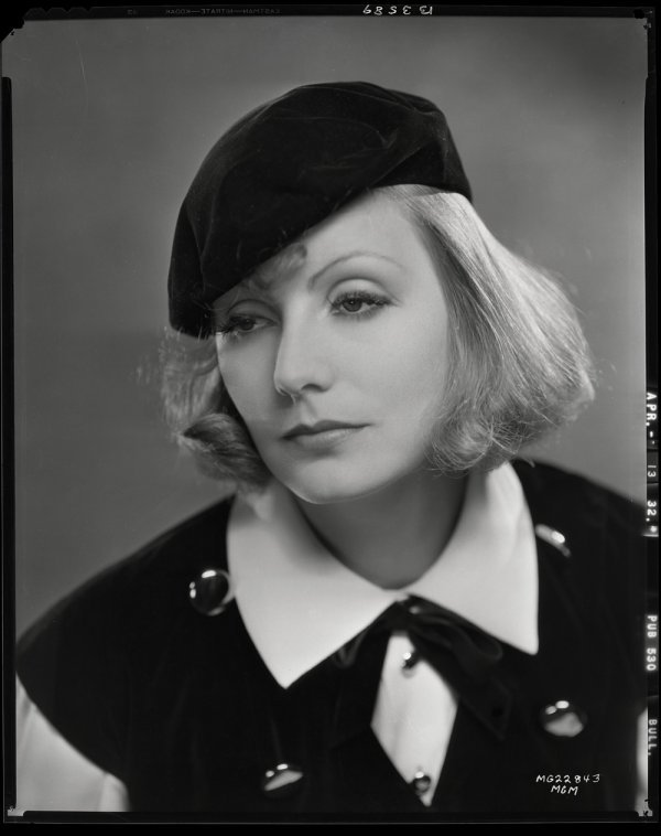 650: Greta Garbo negatives from As You Desire Me