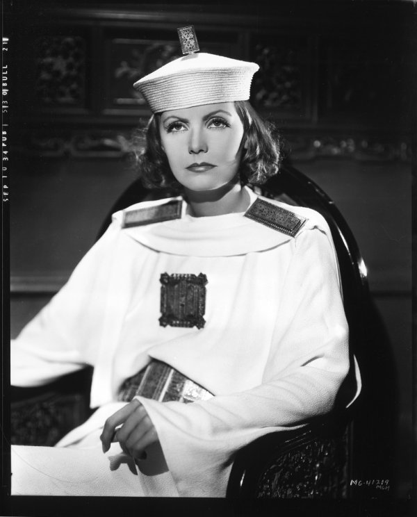 653: Greta Garbo negatives from The Painted Veil