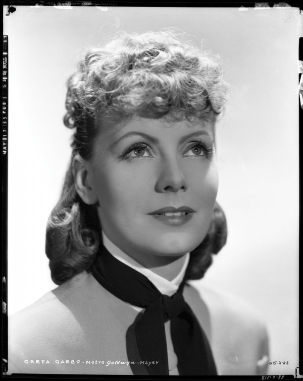 656: Greta Garbo negatives Anna Karenina Sinclair Bull