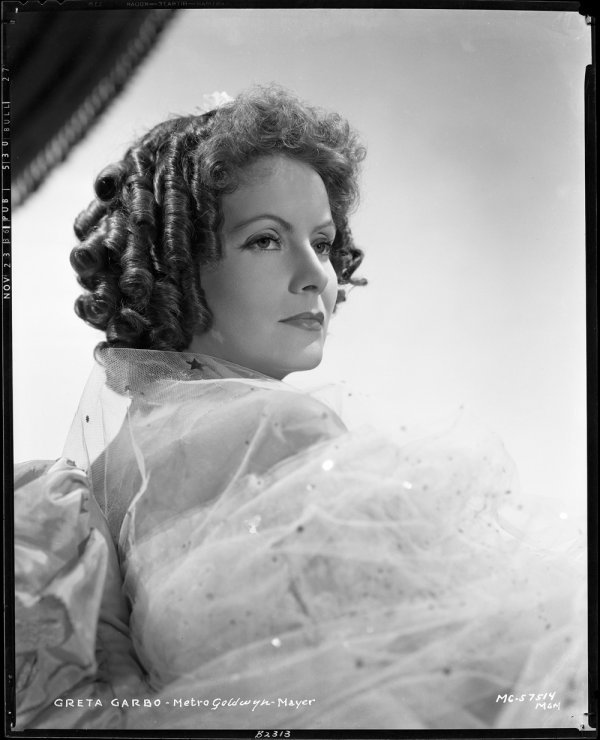 657: Greta Garbo negatives - Camille by Sinclair Bull
