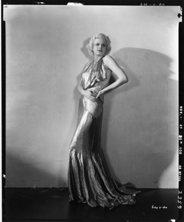 667: Jean Harlow negative from Beast of the City