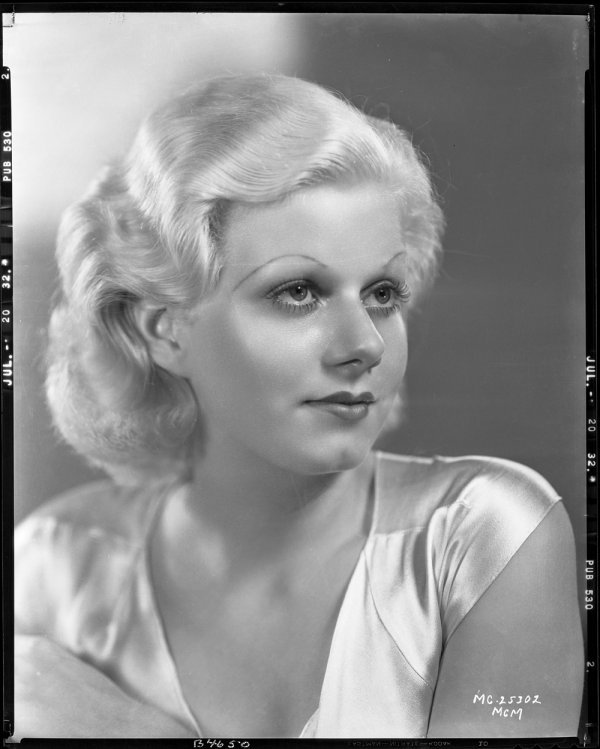 670: Jean Harlow negative - Red Dust by Sinclair Bull