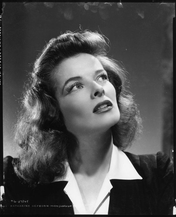 672: Katharine Hepburn negative from Woman of the Year