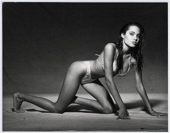 1104: Portraits of Angelina Jolie by Harry Langdon
