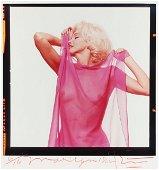 1184: Marilyn color portrait by Bert Stern