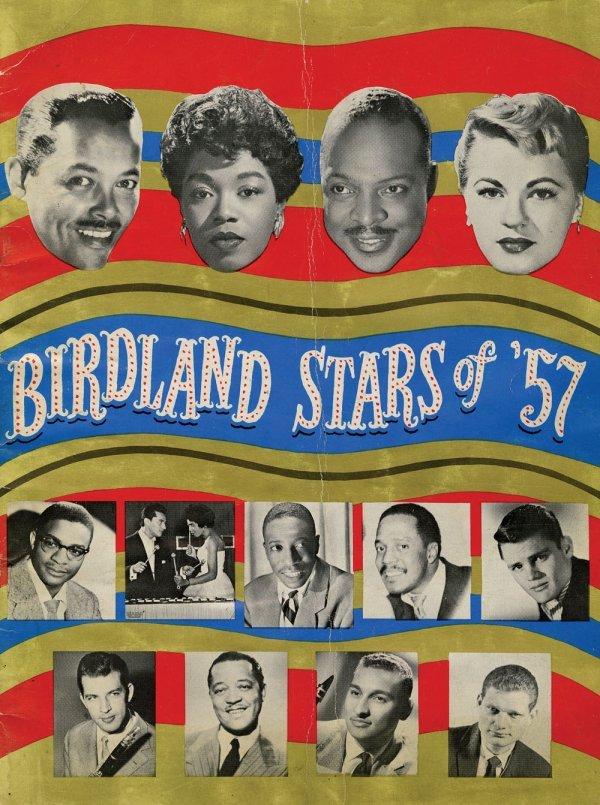 Birdland Stars of '57 program signed