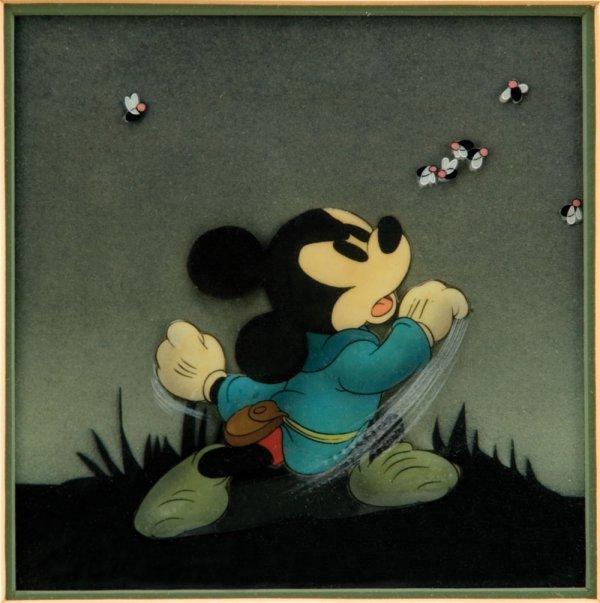 Vintage 1938 Walt Disney cel from Brave Little Tailor