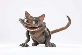 Cheshire Cat puppet from Alice in Wonderland