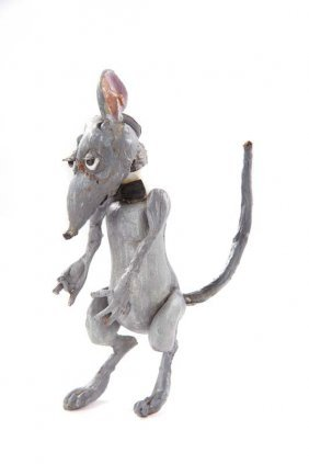 Dormouse puppet from Alice in Wonderland