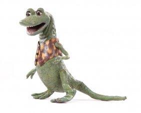Bill the Lizard puppet from Alice in Wonderland